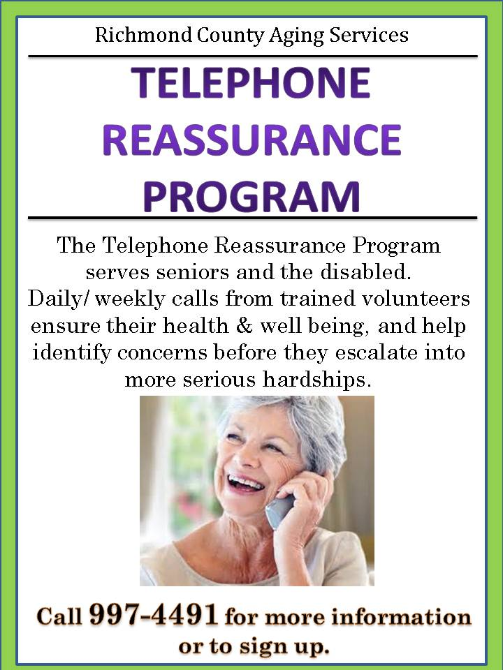 Telephone Reassurance Program