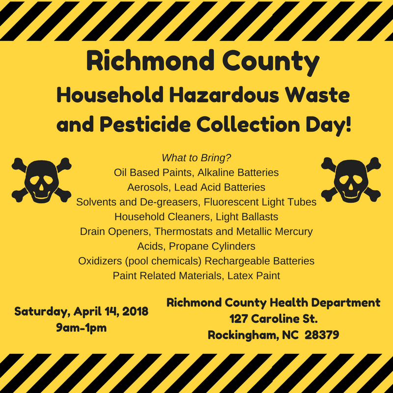 Hazardous Waste Day 2018 UPDATED