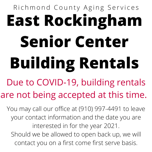 ERSC BLDG Rental Closed